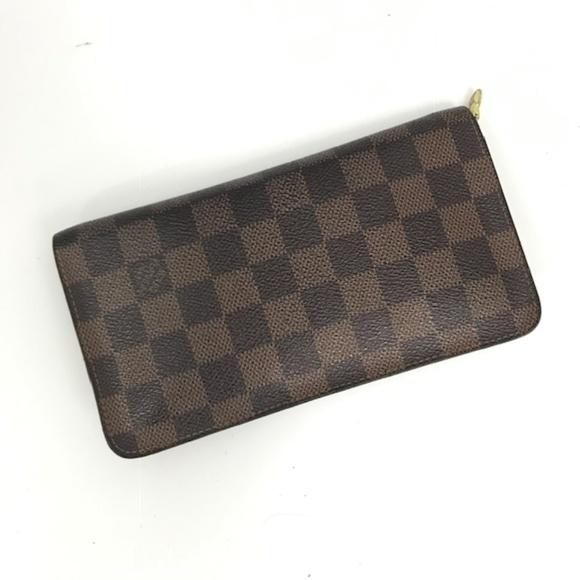aabd8aa651325 Louis Vuitton Handbags - LV Damier Ebene Porte-Monnaie Zippy Wallet